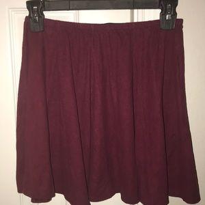 Super Soft Maroon Skirt
